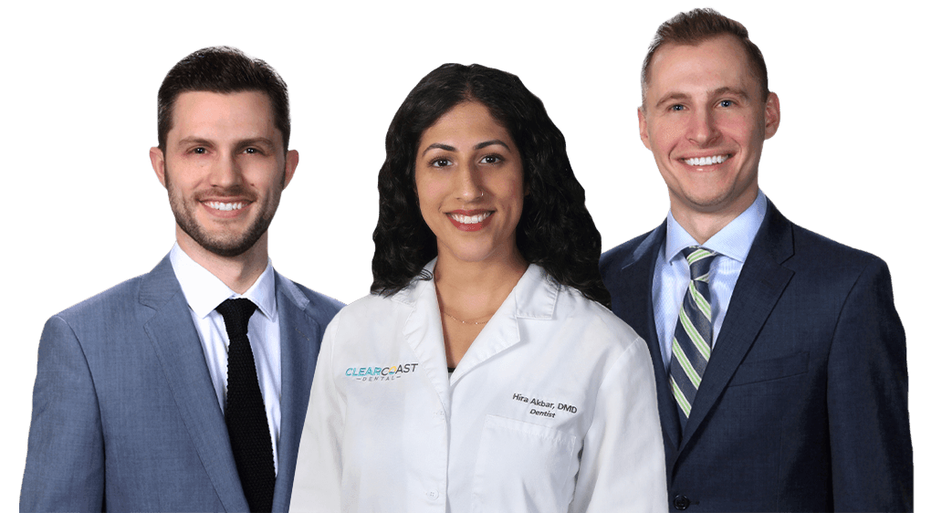 New Bedford dentists Dr. Luccio, Dr. Akbar and Dr. Herr