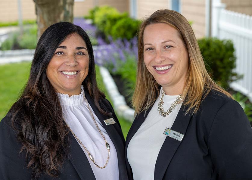 Three dental office team members