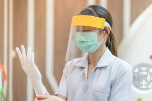 New Bedford dentist dons several personal protective equipment items in COVID-19