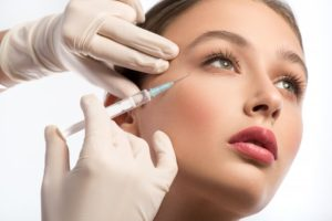 patient getting BOTOX injection